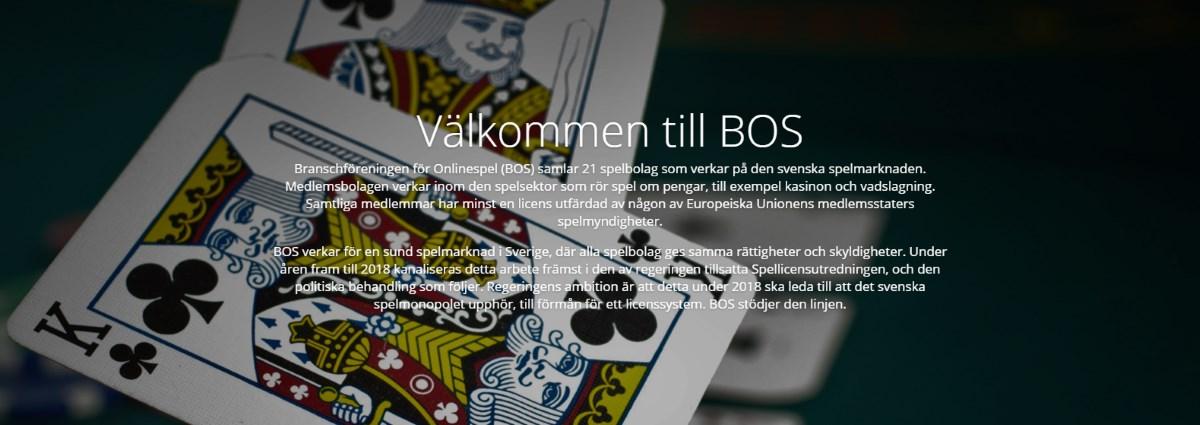 Branschföreningen för Onlinespel (BOS)